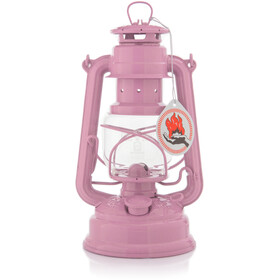 Feuerhand Hurricane 276 Lantern Zinc-Plated light pink